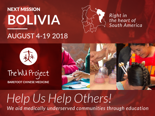 Next The Wu Project Mission Bolivia August 4-19 August 2018